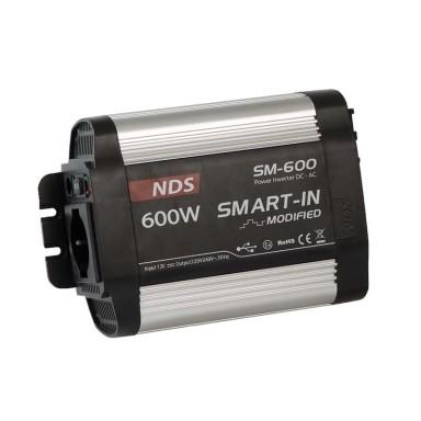 Inversor NDS Smart IN 12V 600W 230V