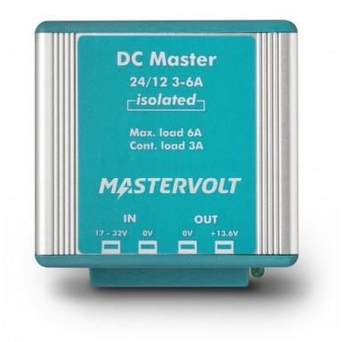 Convertidor Mastervolt DC Master 24 a 12V 3A Aislada