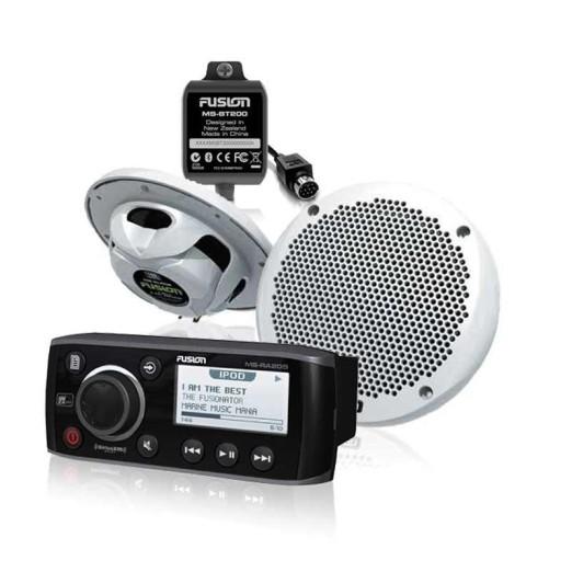 Oferta Radio Música Fusion NMEA2000 con Altavoces y Bluetooth