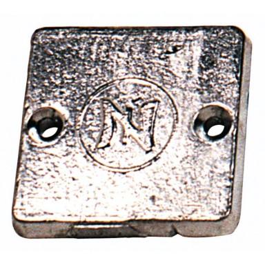 Ánodo Motor Intraborda Mercury Cuadrado