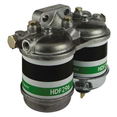 Filtro Combustible Diesel Aluminio Doble