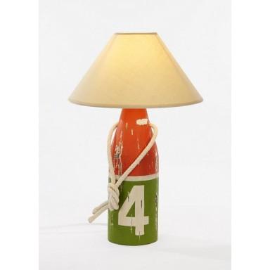 Lámpara Baliza Decoración Náutica Verde