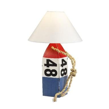 Lámpara Baliza Rayas Decoración Náutica