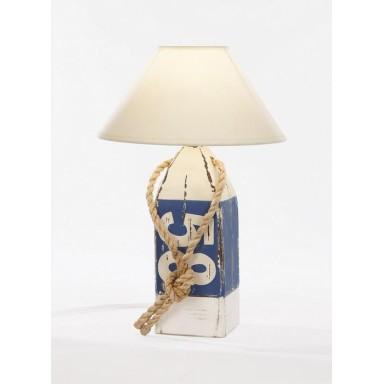 Lámpara Baliza Decoración Náutica Blanca