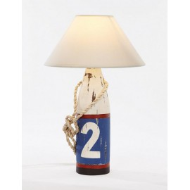 Lámpara Baliza Decoración Náutica Cilíndrica