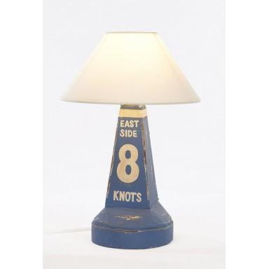 Lámpara Baliza Azul Decoración Náutica