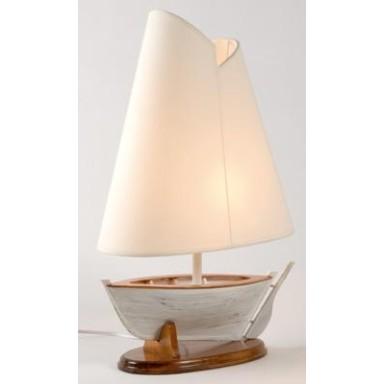 Lámpara Barco De Vela Decoración Náutica