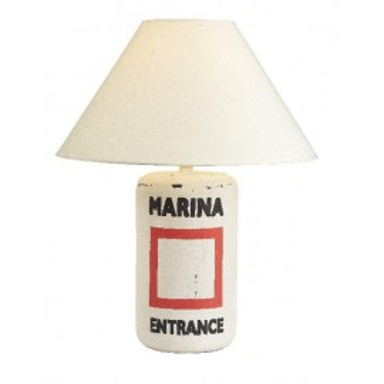 Lámpara De Boya Marina Decoración Náutica
