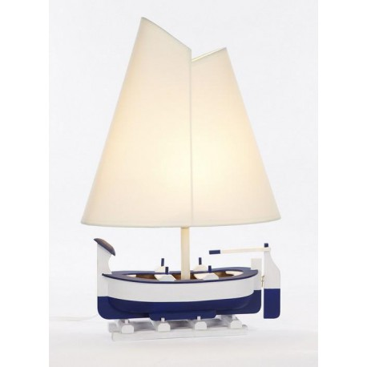 Lámpara Barca Decoración Náutica