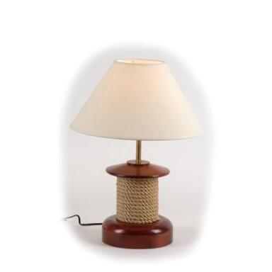 Lámpara Cabestrante Decoración Náutica
