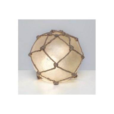 Lámpara Bola Blanca Decoración Náutica (1u)