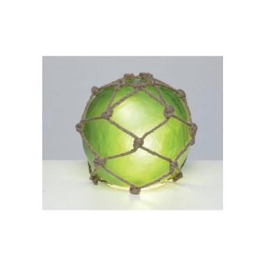 Lámpara Bola Verde Decoración Náutica