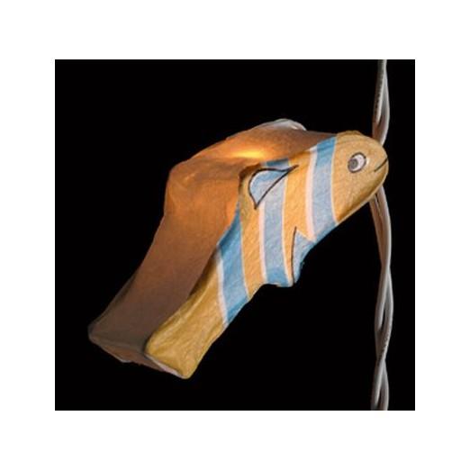 Lámpara Peces Luces Decoración Náutica