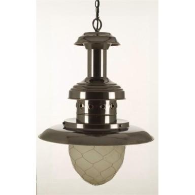 Lámpara Antigua Decoración Náutica Grande