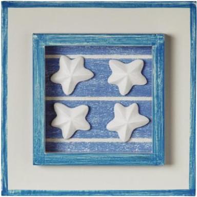 Cuadro Estrella Marinas Decoración (1u)