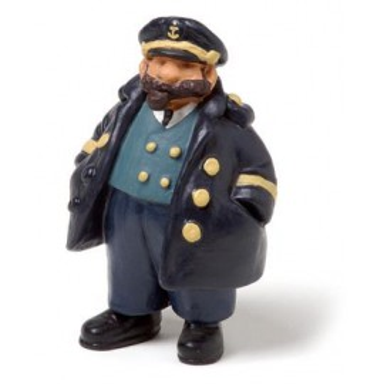 Miniatura Decoración Capitán (2u)