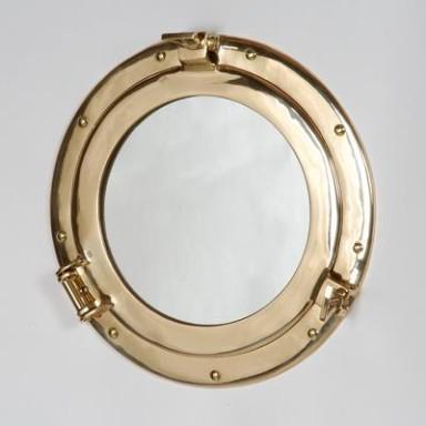 Espejo De Decoración Náutica Grande