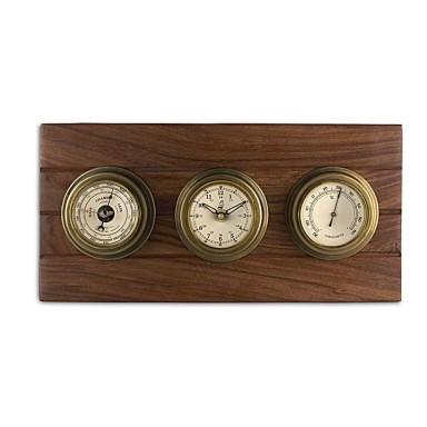 Reloj Y Barómetro Decoración Náutica