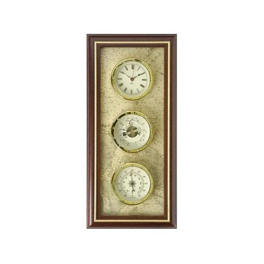 Termómetro Y Reloj Marinero Decoración