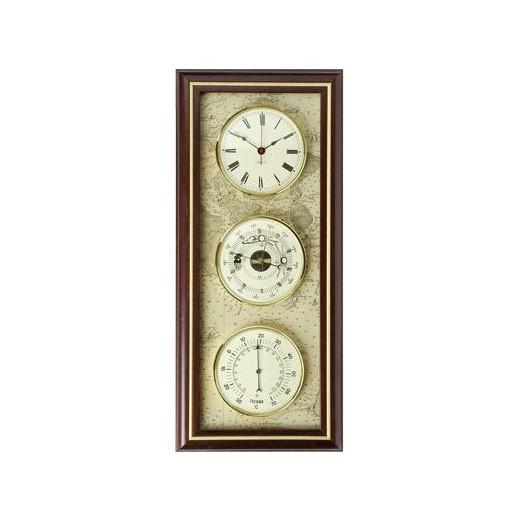 Reloj Barómetro Y Termómetro