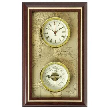 Reloj Y Barómetro Pared