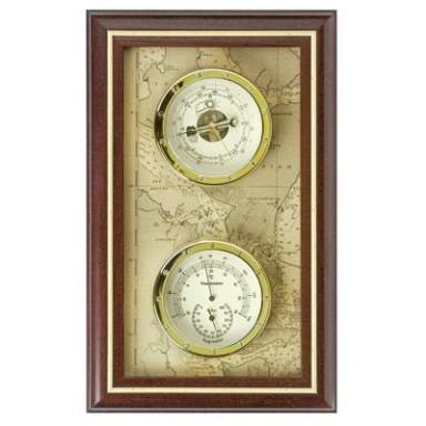 Barómetro Termómetro Clásico