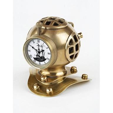 Reloj Y Escafandra Decoración Náutica