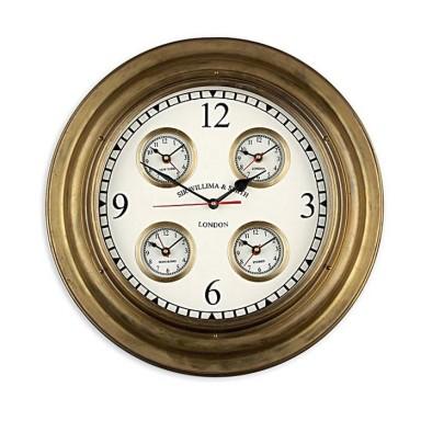 Reloj De 5 Esferas Decoración Náutica