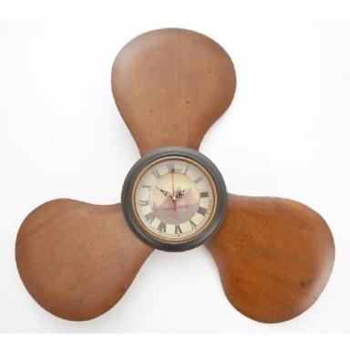 Reloj Hélice Decoración Marino