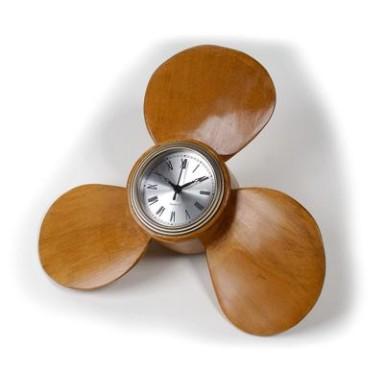 Reloj Hélice Decoración Náutica (1u)