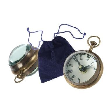 Reloj Bola Pequeño Decoración Náutica (1u)