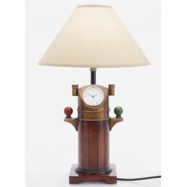 Lámpara Reloj Decoración Marina