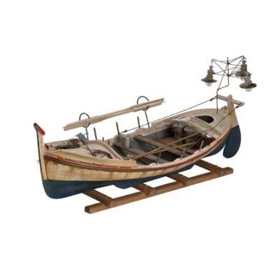 Barca Antigua Luces Marinas