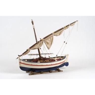Barca Vela Latina Decoración Náutica (1u)