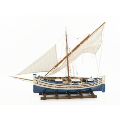 Barco Dos Velas Latinas Decoración Náutica