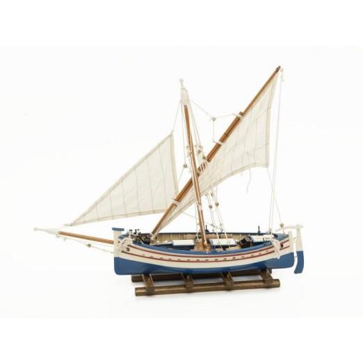 Barca Dos Velas Latinas Decoración Náutica