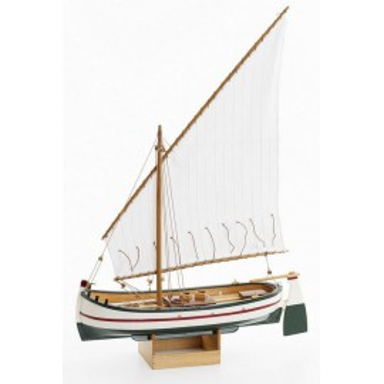 Barca Tradicional Pesquera de Decoración (1u)