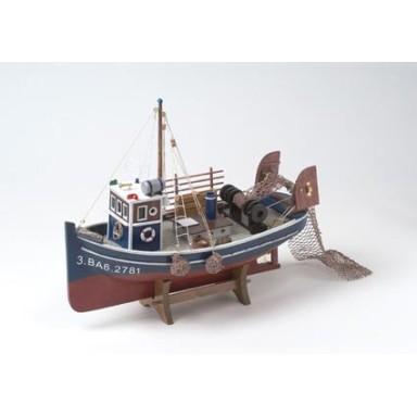 Barco De Pesca Antiguo Arrastre
