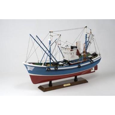 Barco Pesca Rojo Azul (1u)