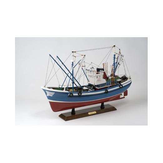 Barco Pesca Rojo Azul