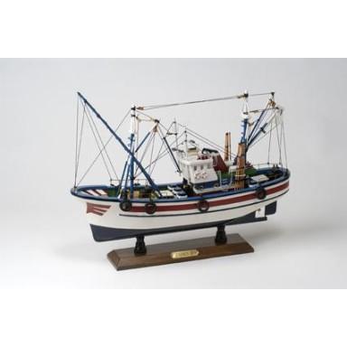 Barco Pesca Azul Blanco (1u)