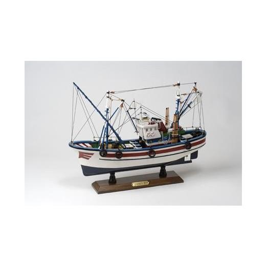 Barco Pesca Azul Blanco