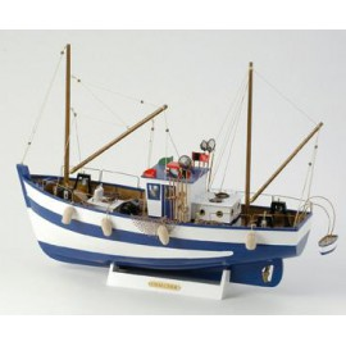 Pesquero Decoración Náutica Chalutier (1u)
