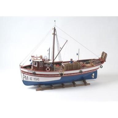 Barca Pesca Antigua Marivent