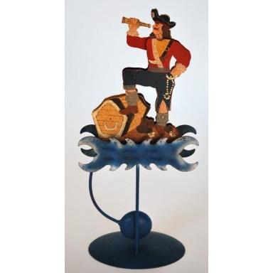 Figura De Piratas Decoración Náutica