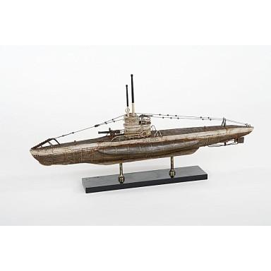 Submarino De Guerra Decoración Náutica