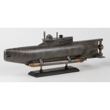 Submarino See Hund Decoración Náutica