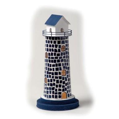 Faro Decoración con Luz Fachada Piedra