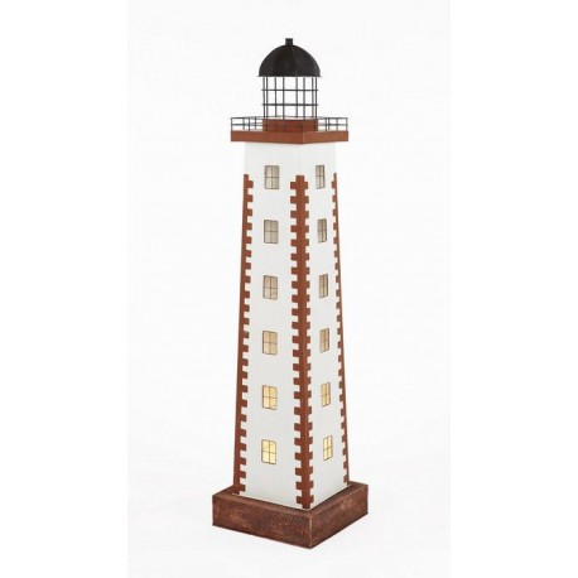 Faro Decoración con Luz Cuadrada Torre