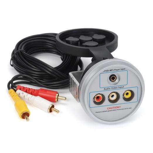 Conector Estanco Aux Audio/Video AquaticAV